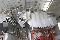 stainless steel tanks chateau de nages rhone france