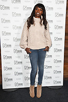 Lorraine Pascal<br /> arriving for the Natural History Museum Ice Rink launch party 2017, London<br /> <br /> <br /> ©Ash Knotek  D3340  25/10/2017