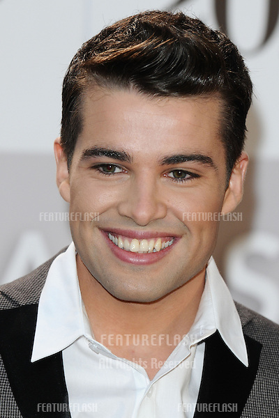 Joe McElderry arriving for the Classic Brit Awards 2012 at the Royal Albert Hall, London. 02/10/2012 Picture by: Steve Vas / Featureflash