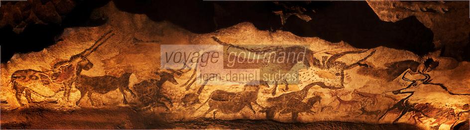 Europe/France/Aquitaine/24/Dordogne/Périgord Noir/Montignac: Grotte de Lascaux II - Grottes ornée  paléolithique  [Non destiné à un usage publicitaire - Not intended for an advertising use]