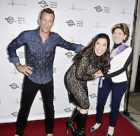 "BEVERLY HILLS, CA - AUGUST 26: Thomas Jane, Kamala Lopez and Gloria Allred attend the ""Equal Means Equal"" Special Screening at the Music Hall on August 20, 2016 in Beverly Hills, CA. Koi Sojer, Snap'N U Photos / MediaPunch"