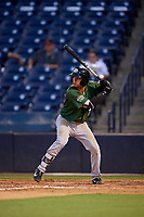 Daytona Tortugas Yonathan Mendoza (7) at bat during a Florida State League game against the Tampa Tarpons on May 17, 2019 at George M. Steinbrenner Field in Tampa, Florida.  Daytona defeated Tampa 8-6.  (Mike Janes/Four Seam Images)