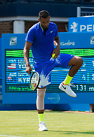 NICK KYRGIOS (AUS)<br /> <br /> TENNIS - AEGON CHAMPIONSHIPS - QUEEN'S CLUB - ATP - 500 - BARON'S COURT, LONDON, GB - 2017  <br /> <br /> <br /> &copy; TENNIS PHOTO NETWORK