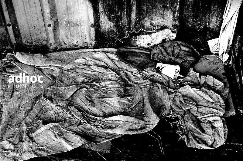 De la serie RASO. Pasiva de la Estacion Artigas (AFE). Montevideo, 30/07/2013.<br /> Foto: Ricardo Antunez <br /> URUGUAY<br /> 2013