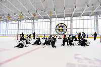 September 15, 2017: The Boston Bruins hold training camp  at Warrior Ice Arena in Brighton, Massachusetts. Eric Canha/CSM