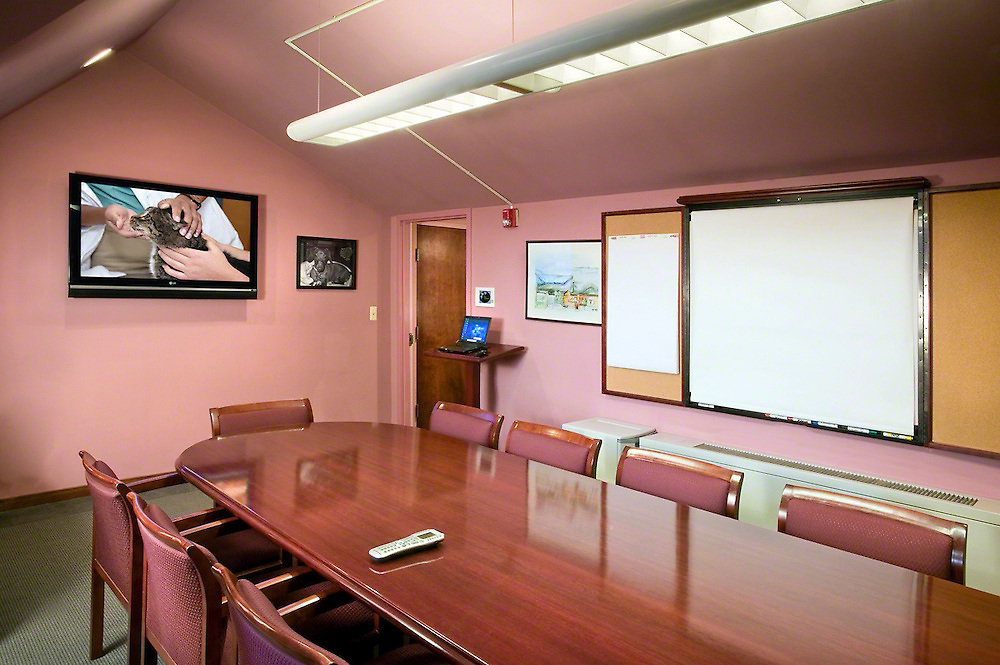 Meeting Room With Smart White Board