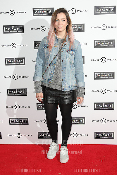 Gemma Styles at the launch of Comedy Central's FriendsFest at the Boiler House, London. <br /> September 15, 2015  London, UK<br /> Picture: James Smith / Featureflash