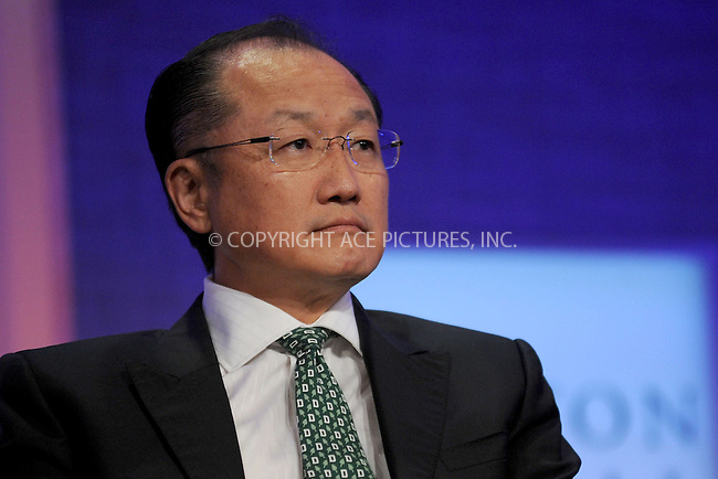 WWW.ACEPIXS.COM . . . . . .September 23, 2012...New York City.... World Bank President Jim Yong Kim at the opening of the eighth Annual Meeting of the Clinton Global Initiative on September 23, 2012 in New York City. ....Please byline: KRISTIN CALLAHAN - WWW.ACEPIXS.COM.. . . . . . ..Ace Pictures, Inc: ..tel: (212) 243 8787 or (646) 769 0430..e-mail: info@acepixs.com..web: http://www.acepixs.com .