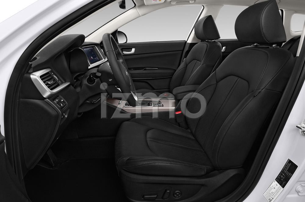 Front seat view of a 2019 KIA Optima Sense  5 Door Wagon front seat car photos