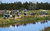 28th September 2017, Windross Farm, Auckland, New Zealand; LPGA McKayson NZ Womens Open, first round;  Galleries of fans and supporters follow the action