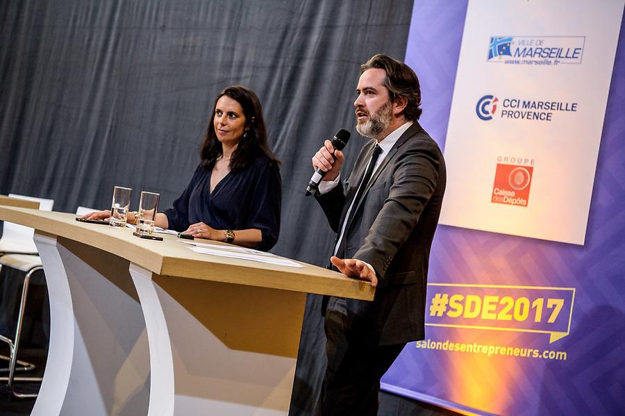 Présentation Salon des Entrepreneurs 2017 - 30 mai 2017 - Palais de la Bourse - Marseille