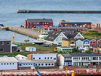 Blick auf Südhafen, Insel Helgoland, Schleswig-Holstein, Deutschland, Europa<br /> south port, Helgoland island, district Pinneberg, Schleswig-Holstein, Germany, Europe