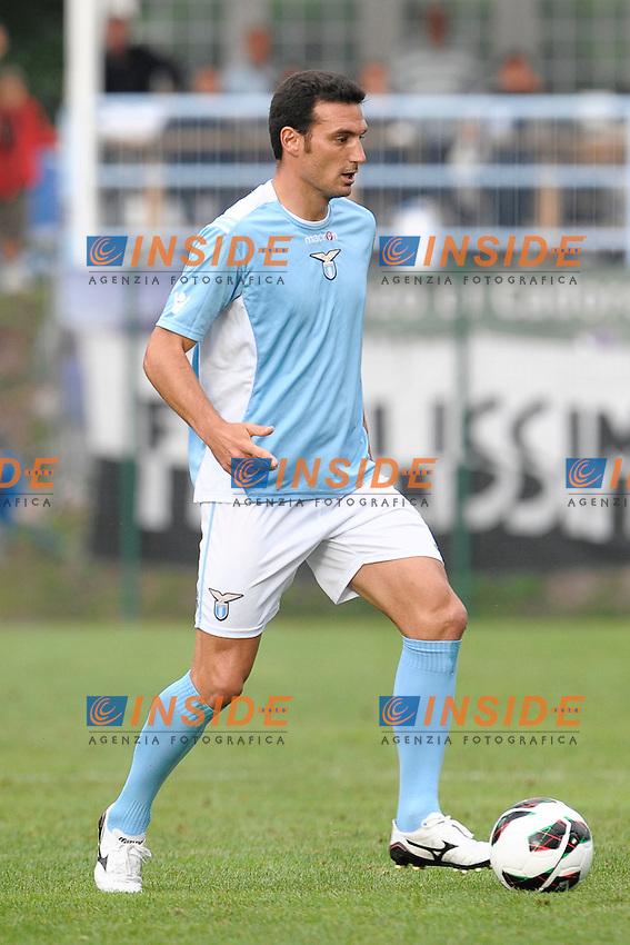 Lionel Scaloni Lazio.Auronzo di Cadore 25/7/2012.Football Calcio 2012 / 2013 .Amichevole Friendly Match.SS Lazio Vs AC Siena.Foto Insidefoto.
