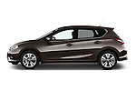 Car Driver side profile view of a 2015 Nissan Pulser Acenta 5 Door Hatchback 2WD Side View