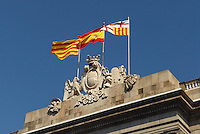 - Barcelona, Generalitat palace, seat of the autonomous government of Catalonia....- Barcellona, palazzo de la Generalitat, sede del governo autonomo della Catalogna ....