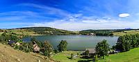 France, Haute-Loire (43), Saint-Front, lac de Saint-Front // France, Haute Loire, Saint Front, Saint Front lake
