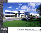 Industrial Park architecture for Cushman & Wakefield.