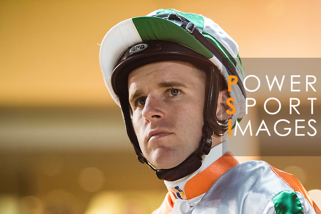 Jockey Tommy Berry during Hong Kong Racing at Happy Valley Race Course on November 22, 2017 in Hong Kong, Hong Kong. Photo by Marcio Rodrigo Machado / Power Sport Images