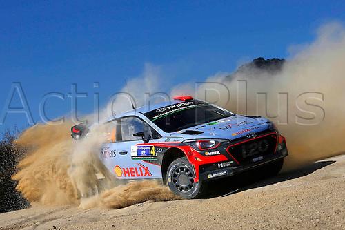 05.03.2016. Guanajuata, Mexico. WRC Rally of Mexico, Day 2.  Dani Sordo (ESP) – Marc Marti (ESP) - Hyundai i20 WRC