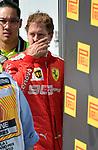 09.06.2019, Circuit Gilles Villeneuve, Montreal, FORMULA 1 GRAND PRIX DU CANADA, 07. - 09.06.2019<br /> , im Bild<br />Ein entäuschter Sebastian Vettel (GER#5), Scuderia Ferrari Mission Winnow<br /> <br /> Foto © nordphoto / Bratic
