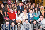 Paula Breen from Killarney celebrated her 21st Birthday surrounded by family and friends last Saturday night in Squires Bar, Killarney.