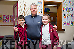 At the Moyderwell Primary School Grandparents Day on Thursday were Jonny O'Brien with grandchildren Darragh O'Brien and Lily O'Brien