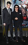 """Gene Simmons and son Nick Simmons at the premiere for """"300 Rise Of An Empire"""" held at the TCL Chinese Theatre Los Angeles, Ca. on March 4, 2014."""