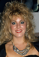 "Montreal (Qc) CANADA - circa 1987 -File Photo -<br /> <br /> Nancy Martinez . <br /> <br /> Nancy Martinez (born 26 August 1960 in Montreal, Quebec) is an international Dance-pop music artist who is primarily known for her 1986 hits ""For Tonight"" and ""Move Out"".<br /> <br /> In 1982, she released two Hi-NRG tracks, ""I'm Gonna Get Your Love"" (credited as Jade) and ""Can't Believe"" (credited as Nancy Martin).<br /> <br /> In 1986, she released two freestyle hits, ""For Tonight"" and ""Move Out"", both from the album Not Just The Girl Next Door. The songs are still in rotation at many dance music radio stations throughout Canada. In 1993 Nancy released a French album on Isba Music entitled Pourquoi Tu Pars? featuring the title track, a cover of italian singer songwriter Marco Masini's ""Perche lo fai?"" As well as ""La Maitresse de tes reves"" whose video received much airplay on Musique Plus Much Music's sister station in Quebec. In 2006, Martinez collaborated with MC Mario on the song ""Not Guilty"".<br /> <br /> -Photo (c)  Images Distribution"