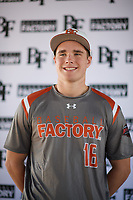 David Wilson (16) of Akins High School in Austin, Texas during the Baseball Factory All-America Pre-Season Tournament, powered by Under Armour, on January 12, 2018 at Sloan Park Complex in Mesa, Arizona.  (Zachary Lucy/Four Seam Images)