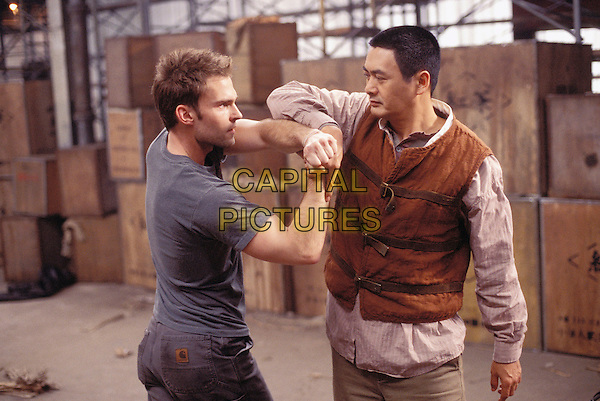 Seann William Scott & Yun-Fat Chow.in Bulletproof Monk (2003) .*Filmstill - Editorial Use Only*.CAP/NFS.Supplied by Capital Pictures.