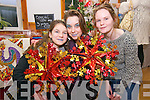 Fiona Mitchell, Marguerite Mitchell and Ellen Power enjoying the Dingle Christmas Fair at An Diseart, Dingle, on Sunday afternoon.