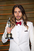 Jared Leto arriving for the 2014 Vanity Fair Oscars Party, Los Angeles. 02/03/2014 Picture by: James McCauley/Featureflash