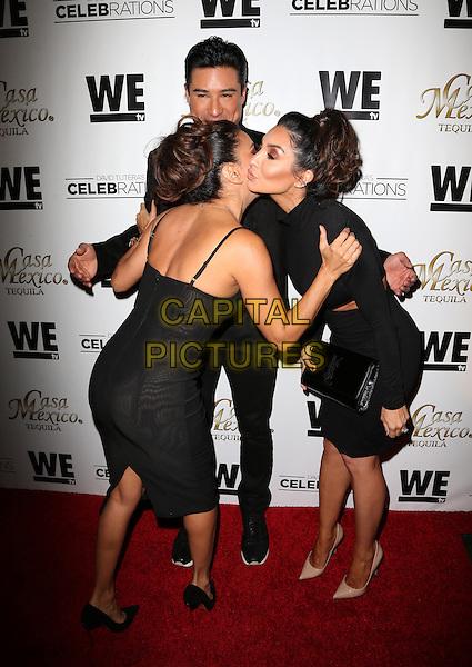 Hollywood, CA - November 06 Eva Longoria, Mario Lopez, Courtney Mazza Attending Mario Lopez Introduces Casa Mexico Tequila On WE tv's David Tutera CELEBrations At Beso On November 06, 2015. <br /> CAP/MPI/FS<br /> &copy;FS/MPI/Capital Pictures