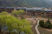 Bhutan, Paro. Zhiwa Ling Hotel.