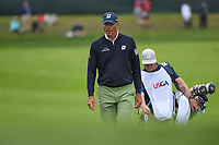 Matt Kuchar (USA) approaches the green on 3 during round 4 of the 2019 US Open, Pebble Beach Golf Links, Monterrey, California, USA. 6/16/2019.<br /> Picture: Golffile | Ken Murray<br /> <br /> All photo usage must carry mandatory copyright credit (© Golffile | Ken Murray)