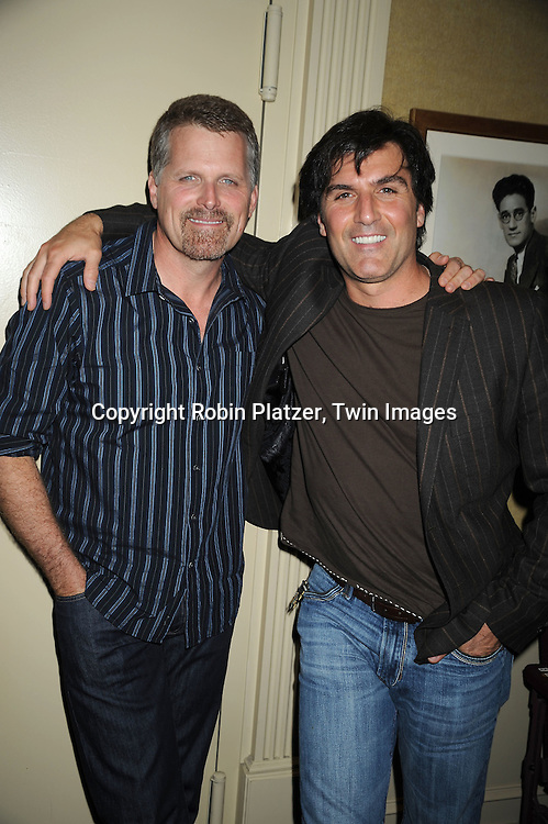 Robert Newman and Vincent Irizarry