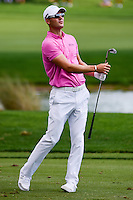 Martin Kaymer (DEU) watches his approach shot on 1 during round 3 of the Honda Classic, PGA National, Palm Beach Gardens, West Palm Beach, Florida, USA. 2/25/2017.<br /> Picture: Golffile | Ken Murray<br /> <br /> <br /> All photo usage must carry mandatory copyright credit (&copy; Golffile | Ken Murray)