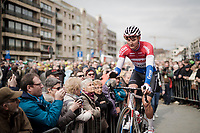 Mathieu Van Der Poel (NED/Correndon-Circus) at the start<br /> <br /> 74th Nokere Koerse 2019 <br /> One day race from Deinze to Nokere / BEL (196km)<br /> <br /> ©kramon