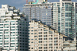 Seattle, condominiums, established and under construction, Belltown neighborhood, downtown Seattle, Washington State, Pacific Northwest, USA.