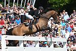 02.06.2019,  GER;  Deutsches Spring- und Dressur-Derby, 90. Deutsches Spring-Derby, im Bild Nigel Coupe  (GBR) auf Golvers Hill  Foto © nordphoto / Witke