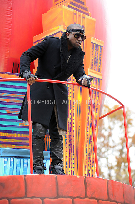 WWW.ACEPIXS.COM . . . . . ....November 25 2010, New York City....Singer Kanye West at the 84th annual Macy's Thanksgiving Parade on November 25 2010 in New York City....Please byline: KRISTIN CALLAHAN - ACEPIXS.COM.. . . . . . ..Ace Pictures, Inc:  ..(212) 243-8787 or (646) 679 0430..e-mail: picturedesk@acepixs.com..web: http://www.acepixs.com
