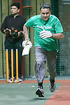 Action from BNY Mellon Cricket Tournament at Play on Sport, Canary Wharf, London<br /> Picture by David Horn/eXtreme aperture photography +44 7545 970036<br /> 21/04/2015