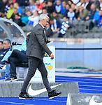 14.04.2018, OLympiastadion, Berlin, GER, 1.FBL, Hertha BSC VS. 1.FC Koeln, im Bild <br /> Armin Veh (1.FC Koeln)<br /> <br /> <br />       <br /> Foto &copy; nordphoto / Engler