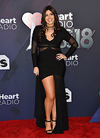 Marina Morgan at the 2018 iHeartRadio Music Awards at The Forum, Los Angeles, USA 11 March 2018<br /> Picture: Paul Smith/Featureflash/SilverHub 0208 004 5359 sales@silverhubmedia.com