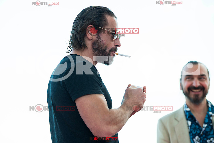"Ola Rapace pose to the media during the presentation of the film ""Ares"" at Festival de Cine Fantastico de Sitges in Barcelona. October 11, Spain. 2016. (ALTERPHOTOS/BorjaB.Hojas) NORTEPHOTO.COM"