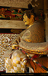 Yomeimon Gate Sculpture Detail Archer Guarding Gate Honsha Central Shrine Nikko Toshogu Shrine Nikko Japan