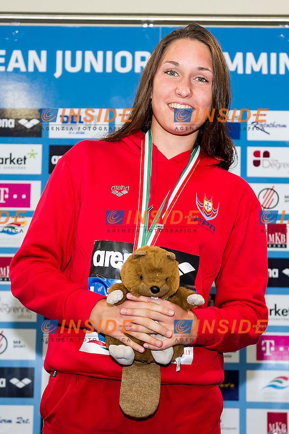 Holub Tamila Hryhorivna POR<br /> 1500 Freestyle Women Final Gold Medal<br /> LEN 43rd Arena European Junior Swimming Championships<br /> Hodmezovasarhely, Hungary <br /> Day03 08-07-2016<br /> Photo Andrea Masini/Deepbluemedia/Insidefoto