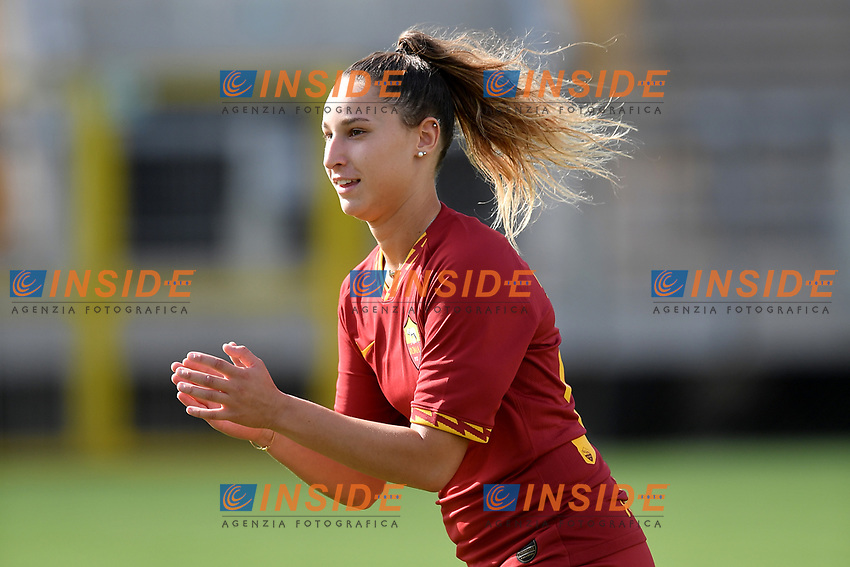 Emma Severini of AS Roma <br /> Roma 8/9/2019 Stadio Tre Fontane <br /> Luisa Petrucci Trophy 2019<br /> AS Roma - Paris Saint Germain<br /> Photo Andrea Staccioli / Insidefoto