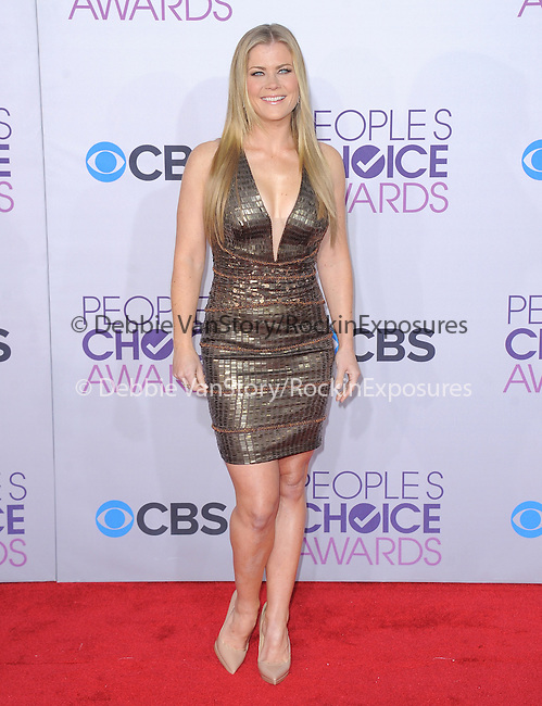 Alison Sweeney at The 2013 People's Choice Awards held at Nokia Live in Los Angeles, California on January 29,2009                                                                   Copyright 2013 Hollywood Press Agency
