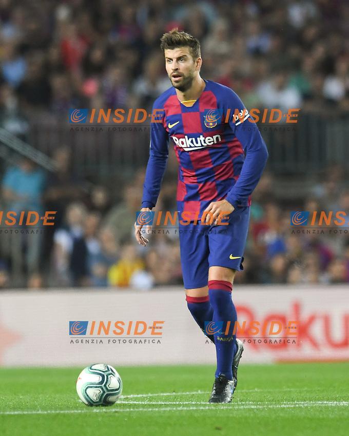 Gerard Pique<br /> 21/01/2016 <br /> Barcelona - Villarreal <br /> Calcio La Liga 2019/2020 <br /> Photo Paco Largo Panoramic/insidefoto <br /> ITALY ONLY